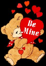 Teddy clipart cute heart #13