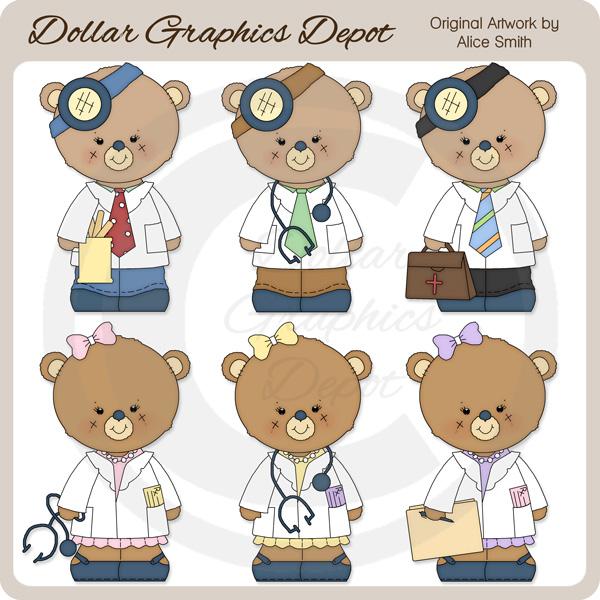 Teddy clipart doctor #9