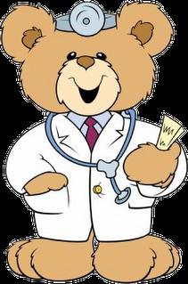 Teddy clipart doctor #7