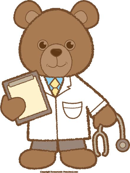 Teddy clipart doctor #8