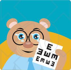 Teddy clipart eye #9