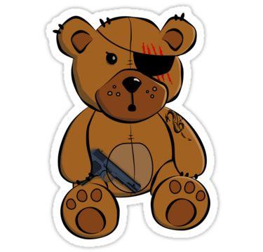 Teddy clipart eye #6
