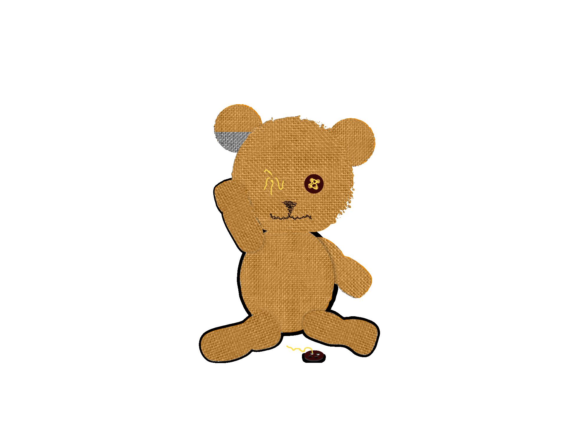 Teddy clipart eye #8