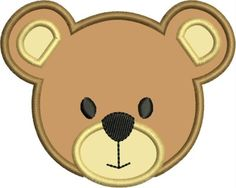 Teddy clipart face #5