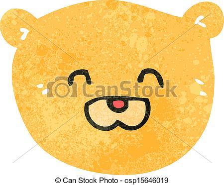 Teddy clipart face #14