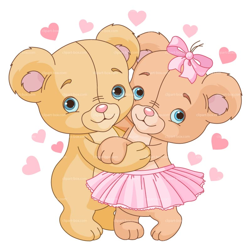 Kisses clipart cute teddy bear Cute Cartoon bears130115 Bears family