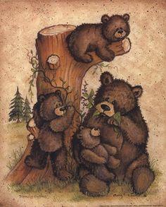 Teddy clipart family #9