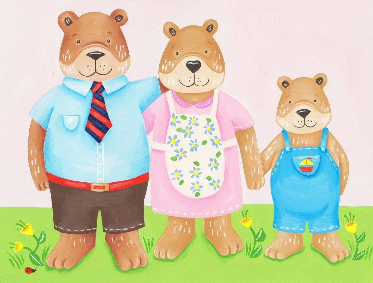 Teddy clipart family #12