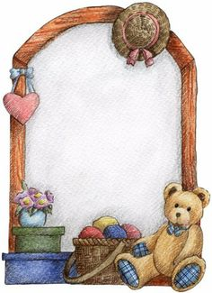 Bear clipart frame Collection Graphic CLIP 18KB clipart