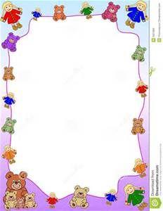 Teddy clipart frame Teddy Borders Bears Bing Teddy