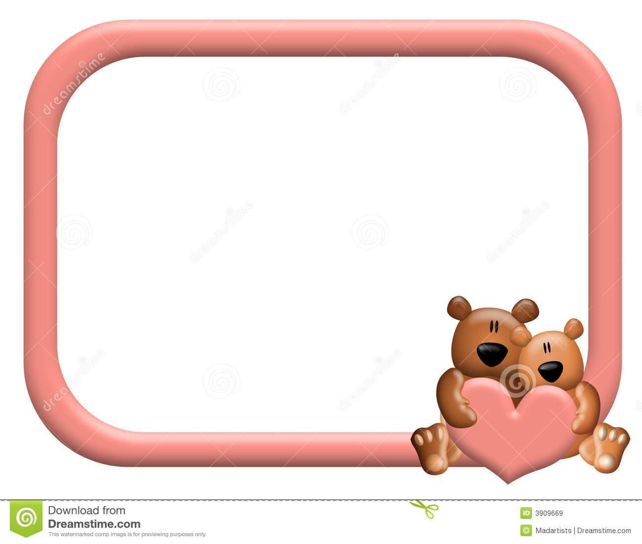Bear clipart frame Teddy Bear Cute collection Or