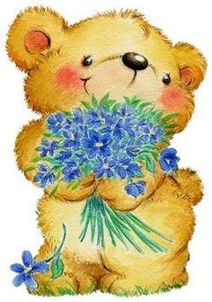 Teddy clipart fuzzy #12