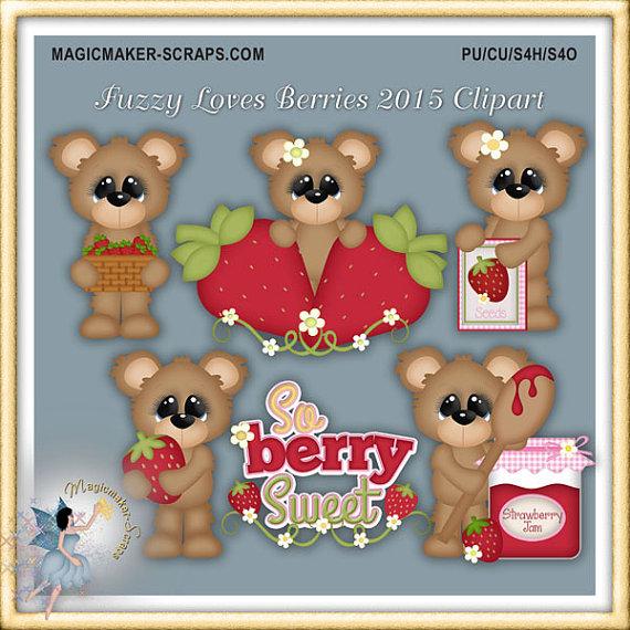 Teddy clipart fuzzy #11
