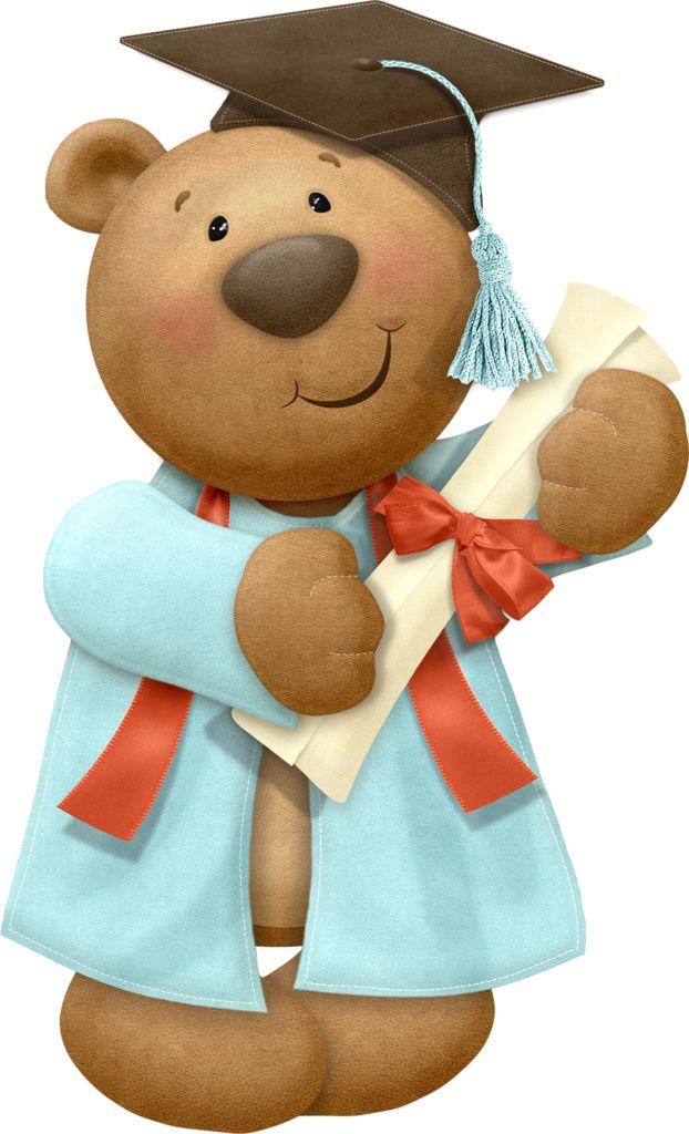 Teddy clipart graduation *✿* Pinterest best Clip Graduation