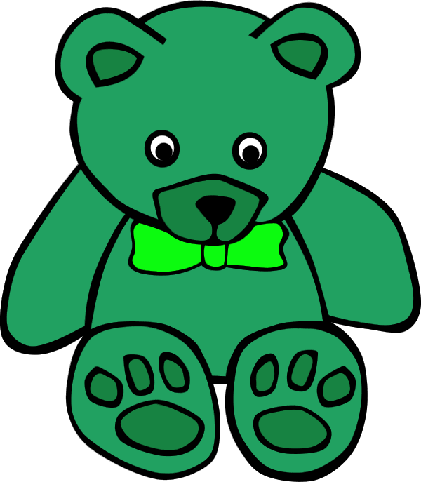 Bear clipart green Green Bear (28+) bear Green
