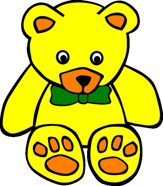 Teddy clipart green #14