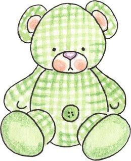 Teddy clipart green #15