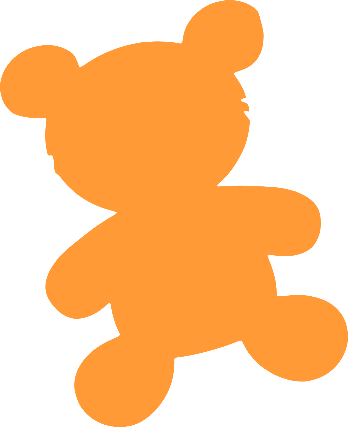 Teddy clipart grizzly bear Panda Bear Clipart Outline grizzly%20bear%20standing%20clipart