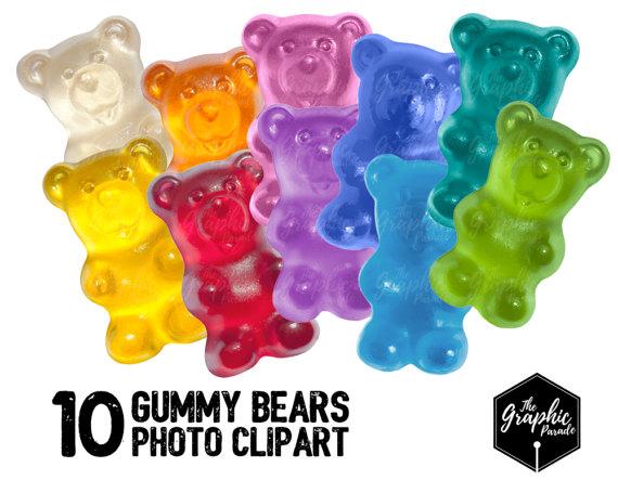 Teddy clipart gummy bear From Etsy photo clipart