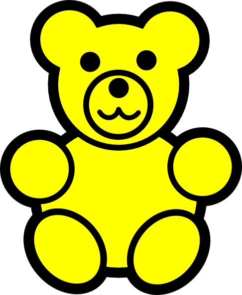 Teddy clipart gummy bear Page 1596 Gummy collection Clipart