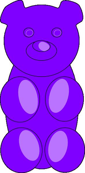 Gummy Bear clipart teddy bear outline Gummy Bear Bear Clker clip