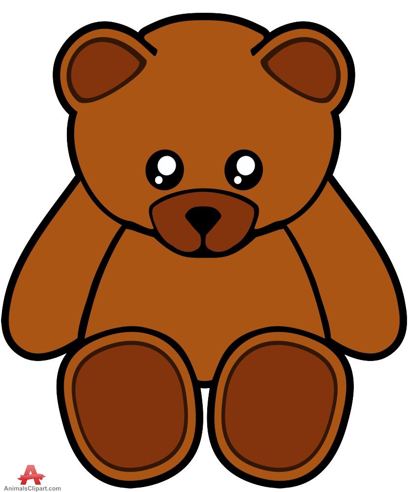 Teddy clipart head #12