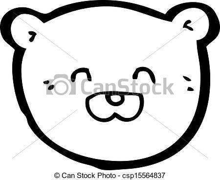 Teddy clipart head #10