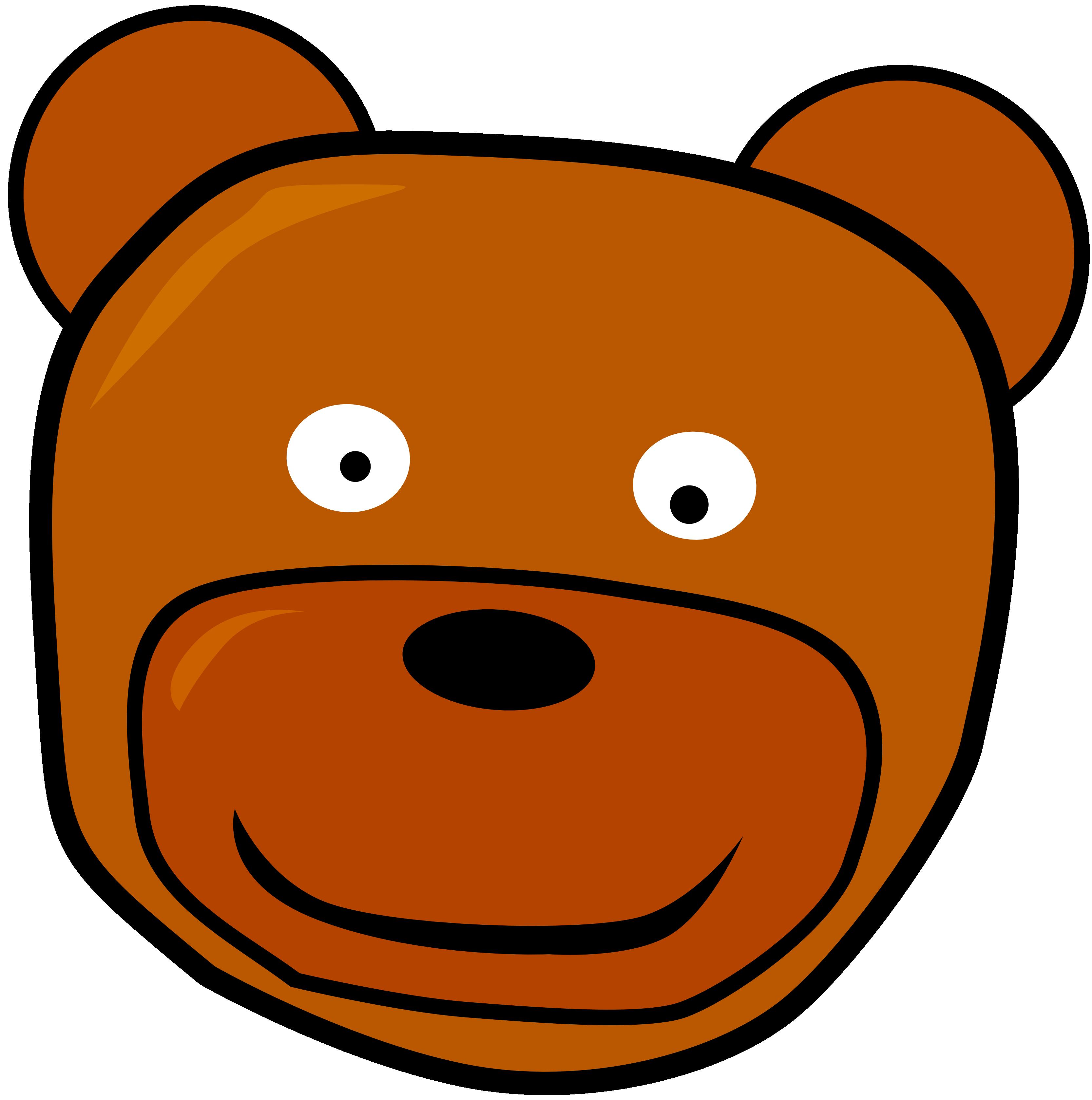 Teddy clipart head #14