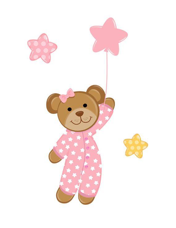 Teddy clipart kid pajamas #3