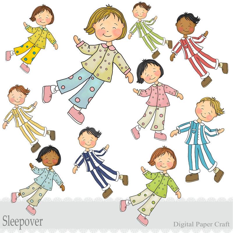 Teddy clipart kid pajamas #11