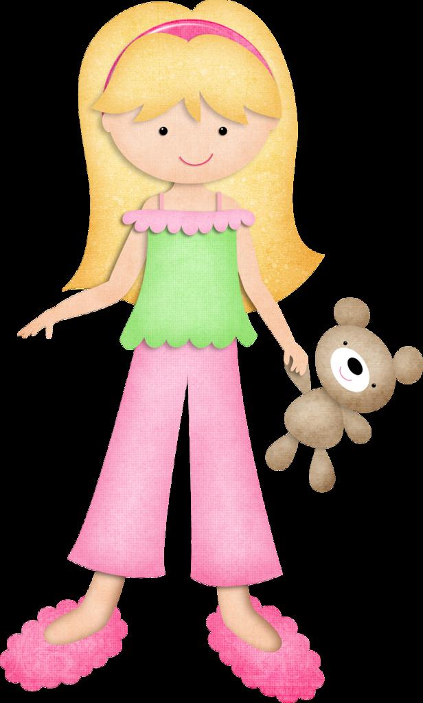 Teddy clipart kid pajamas #2