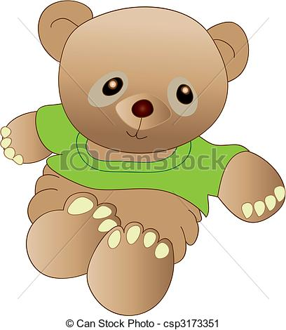 Teddy clipart kids toy #3