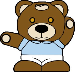 Teddy clipart line art Teddy Clip Bear royalty at