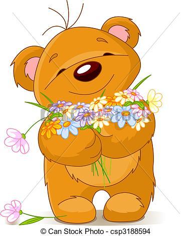 Teddy clipart little bear #8