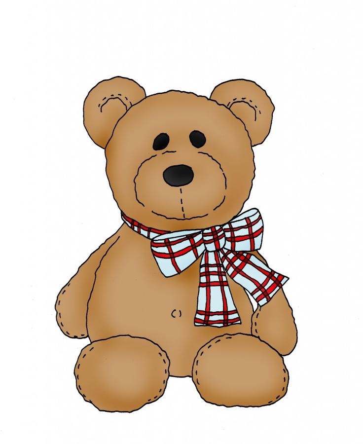 Teddy clipart little bear #15