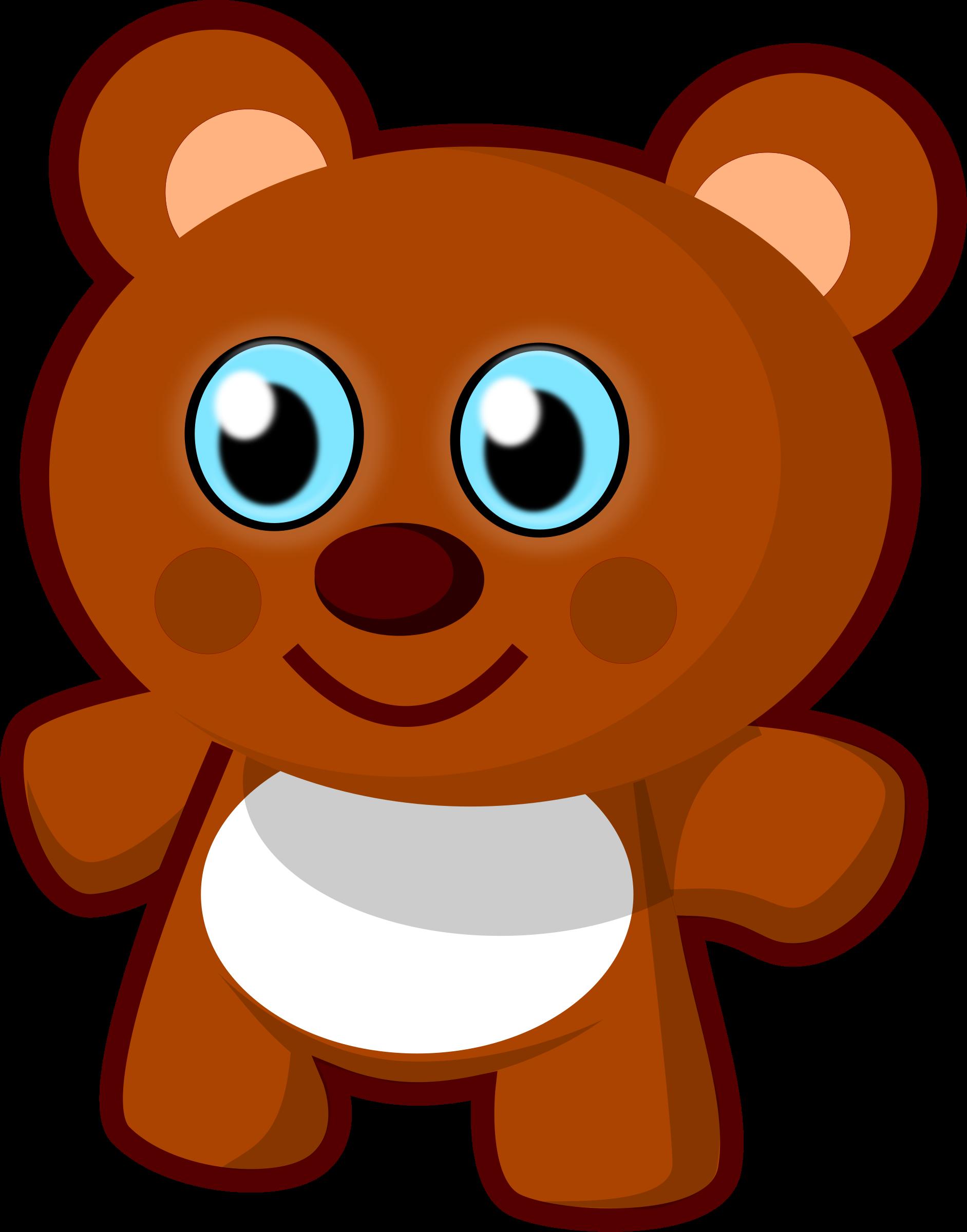 Teddy clipart little bear #10