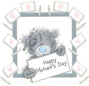 Teddy clipart mothers day 256 ~ best Pinterest Tatty