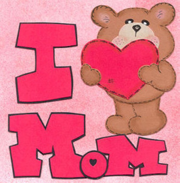 Teddy clipart mothers day Cute Mother's Handmade Pinterest Happy