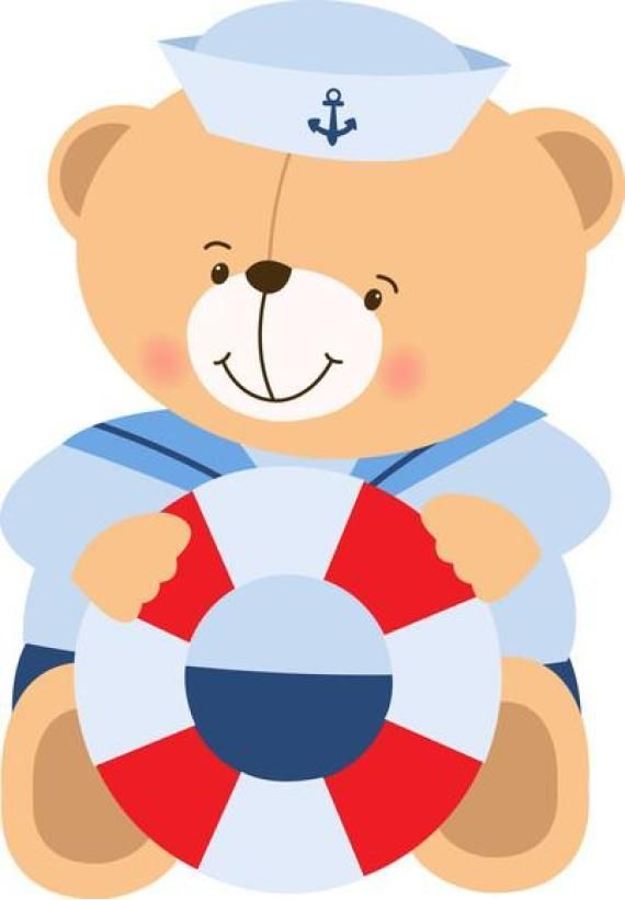Teddy clipart nautical #13