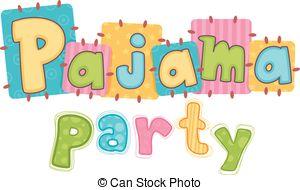 Teddy clipart pajama party #11