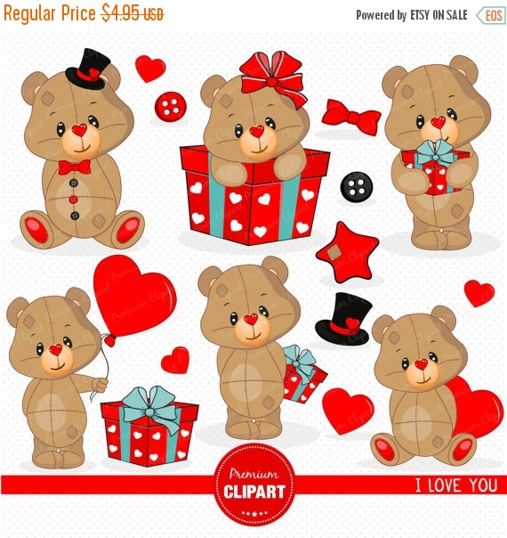 Teddy clipart poorly #8