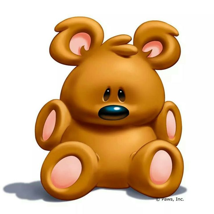 Teddy clipart poorly #6