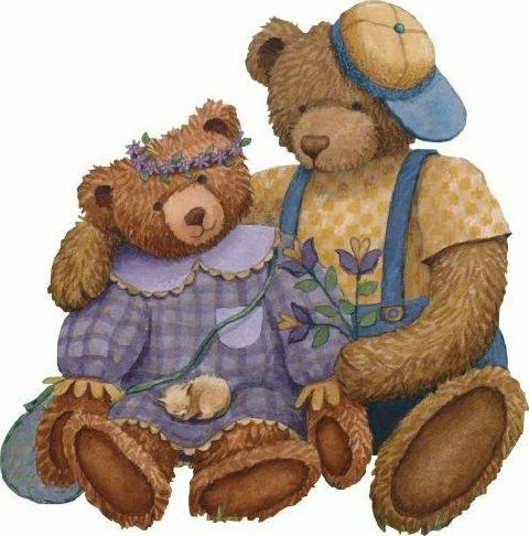 Teddy clipart poorly #9