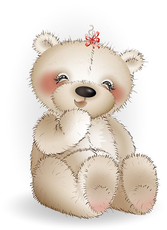 Teddy clipart poorly #3