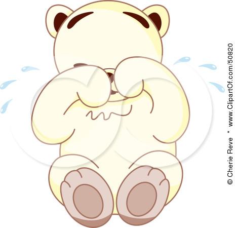 Teddy clipart sad #13