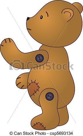Teddy clipart sad #11