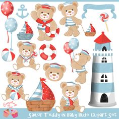 Sailor clipart teddy bear Baby on from Clipart in
