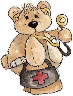 Teddy clipart sick VECTORS bear FREEBIES with CLIP