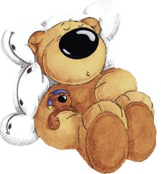 Teddy clipart sleepy Pinterest best on slumbering cliparts