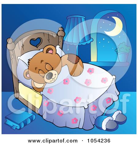 Teddy clipart sleepy Clipart Sleeping Bear Teddy Bear